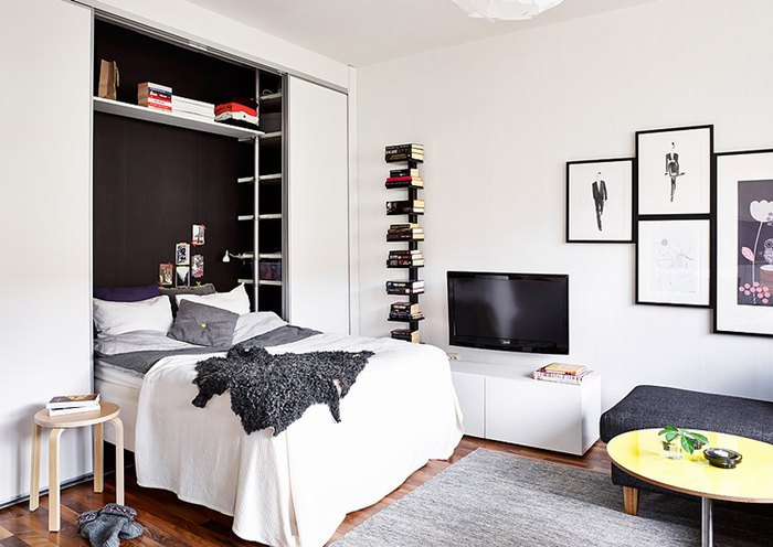 Интерьер квартиры 25 квадратных метров