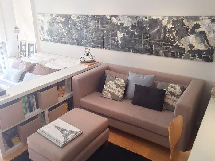 Интересные решения для маленькой квартиры