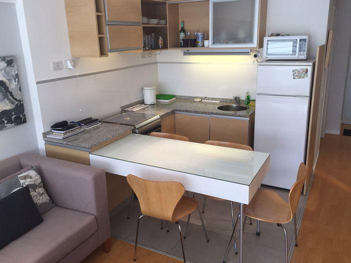 Кухня в однушке