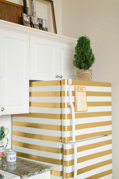 9. Декорировать холодильник