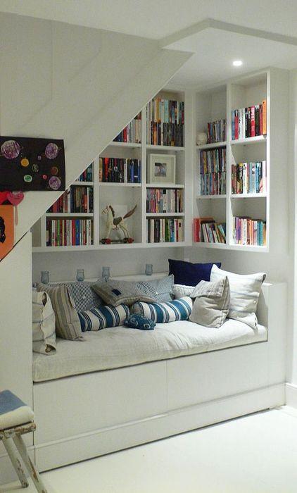 5. Сделать домашнюю библиотеку в нише
