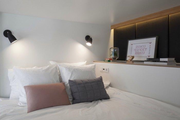 Спальное место в очень маленькой квартире