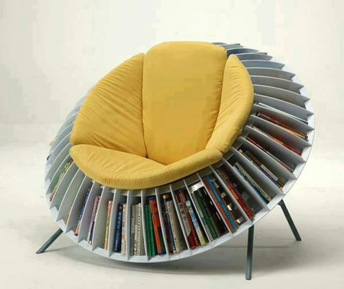 Кресло-солнце китайских дизайнеров He Mu и Zhang Qian