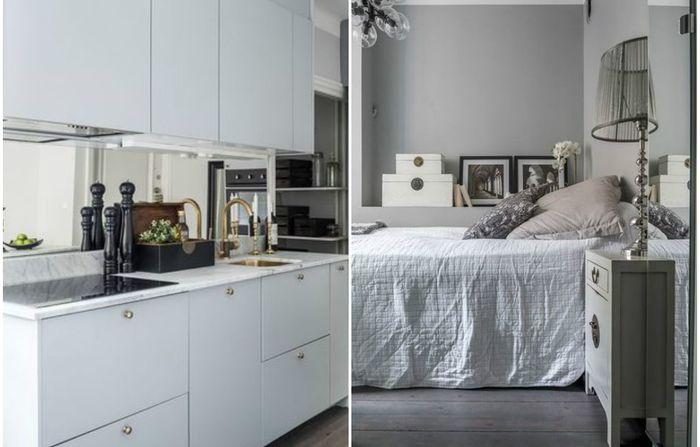 Как оформить квартиру площадью 35 квадратных метров: лаконичный и стильный интерьер, который понравится многим