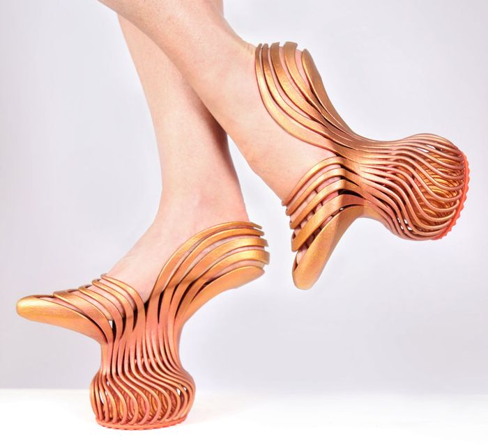 Несмотря на внешний вид туфель, в них очень удобно ходить