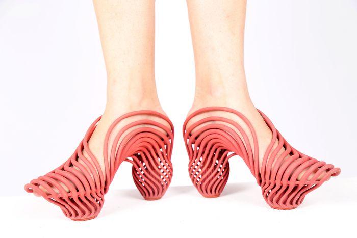 Необычные женские туфли
