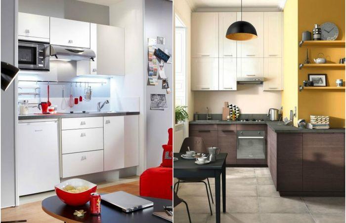 Маленькая кухня: 5 классных примеров, которые перевернут представление о небольших пространствах