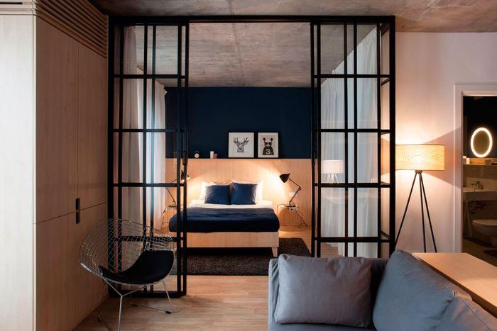Спальня в однушке