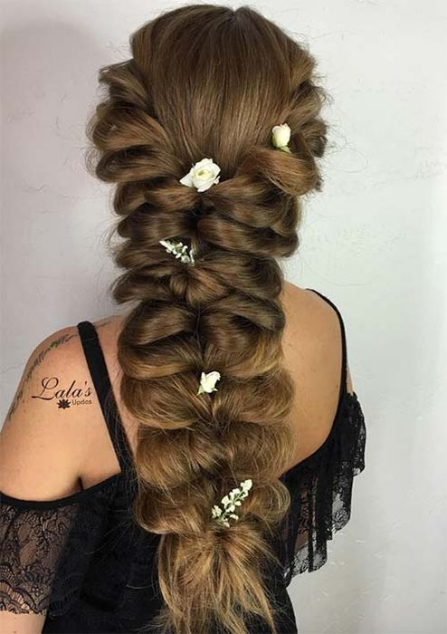 Красивая длинная коса