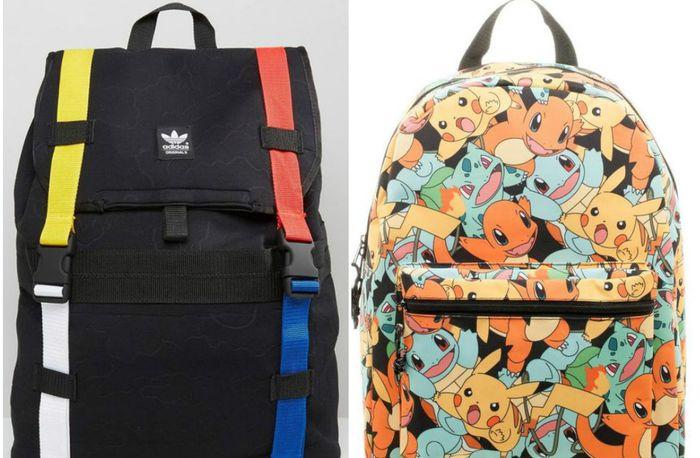 10 модных рюкзаков для тех, кто собирается идти в школу или институт