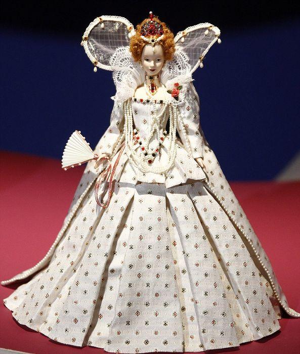 Миниатюра британской королевы Елизаветы I