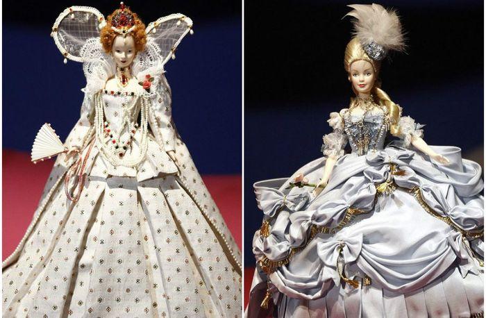 Куклы Барби на уникальной выставке в Париже