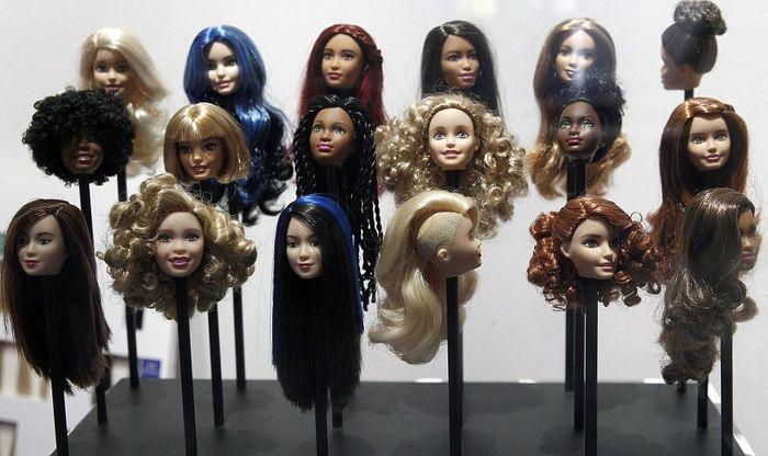 Причёски Barbie