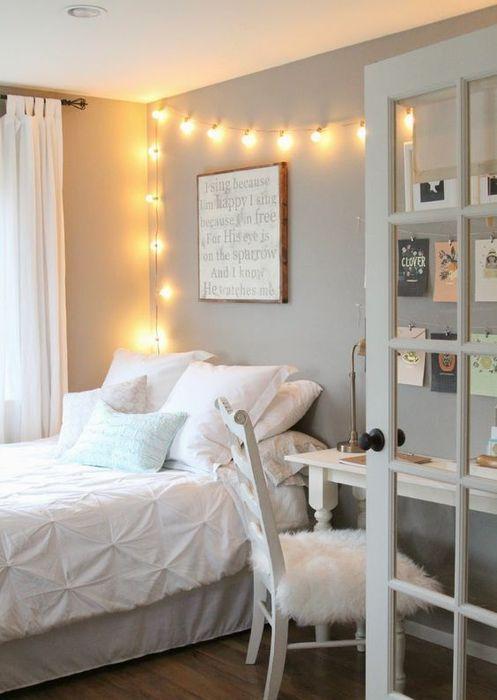 Около кровати