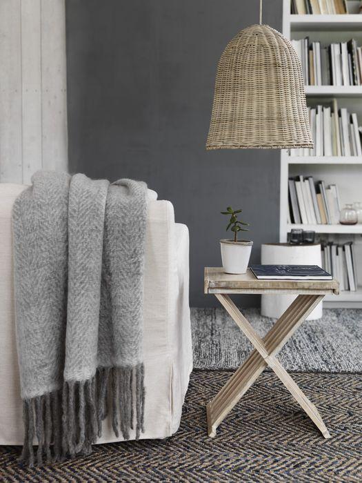 Плетёная лампа