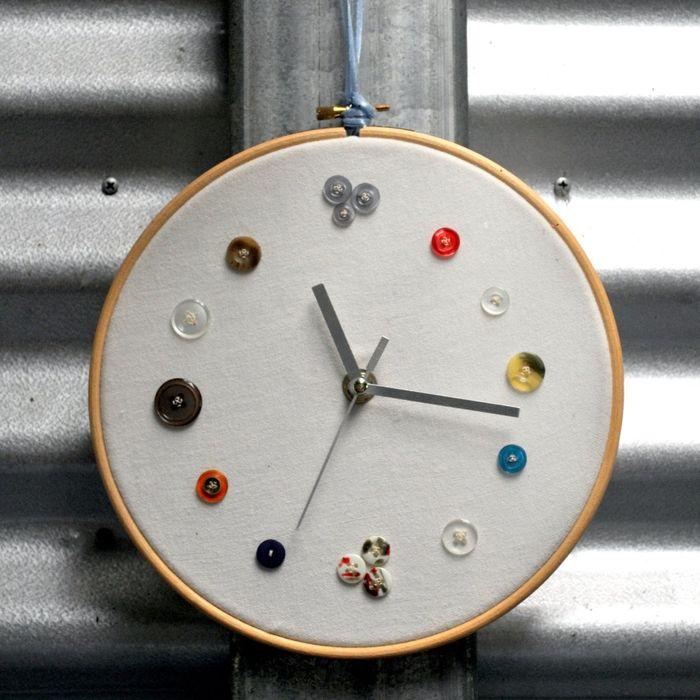 Рукодельные часы