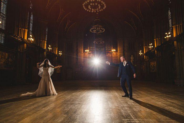 Необычная стилизованная свадьба