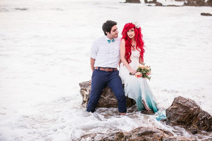 Свадьба в стиле Русалочка