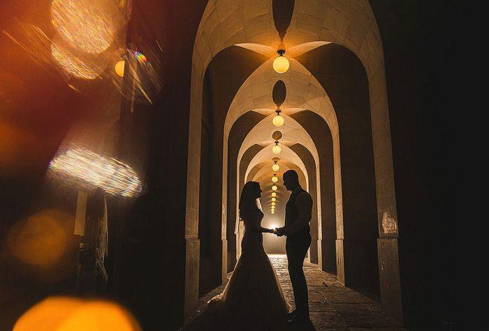 Атмосферное свадебное фото