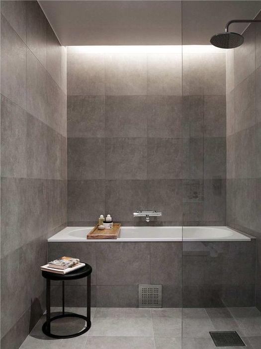 Стильное решение для небольшой ванной