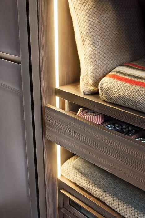 Подсветка шкафчиков