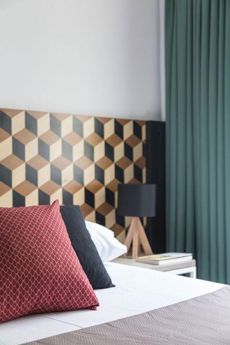 Стильная плитка для декора спальни