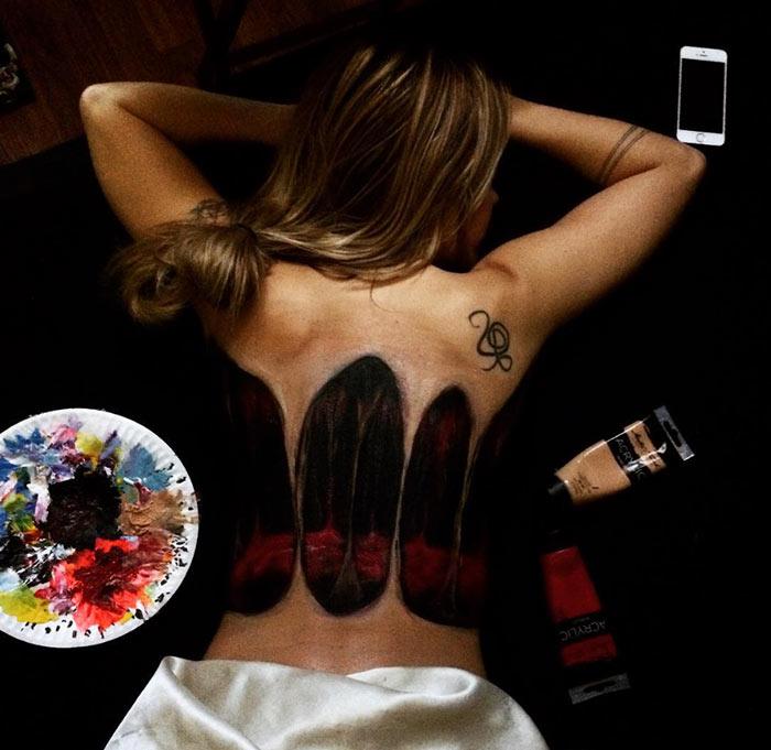 Татуировки, которые можно менять каждый день