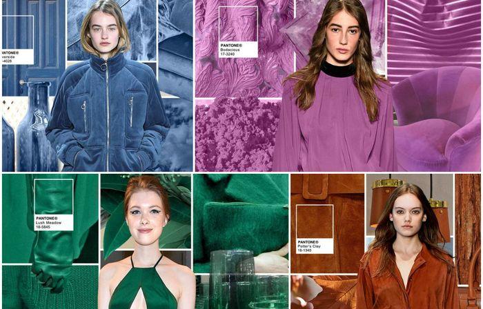 10 модных оттенков в одежде, которые будут актуальны в этом осенне-зимнем сезоне