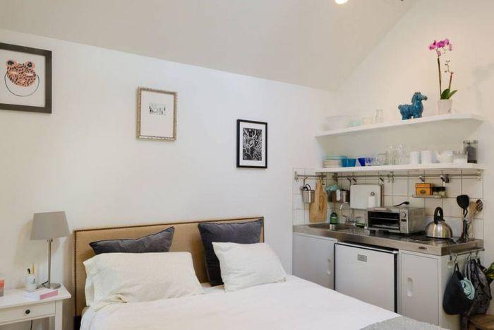 Маленький стильный домик, площадью всего 23 квадратных метра