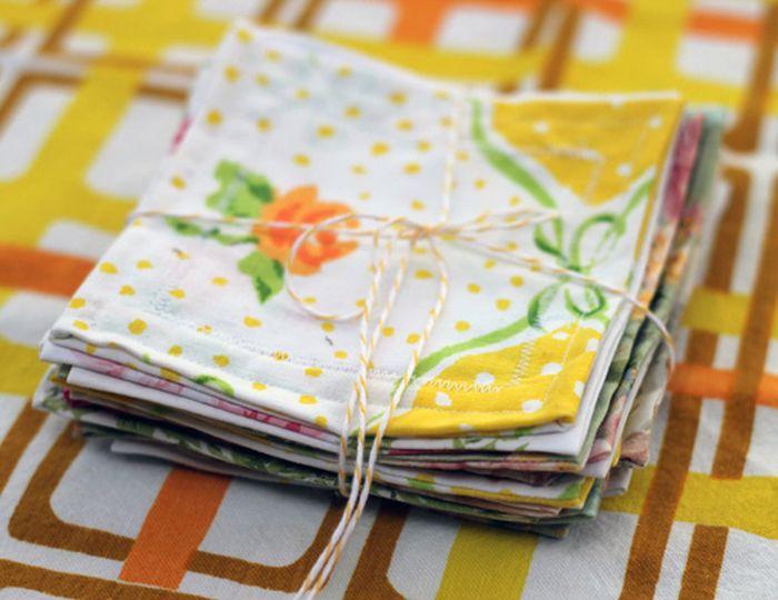 9. Текстильные салфетки