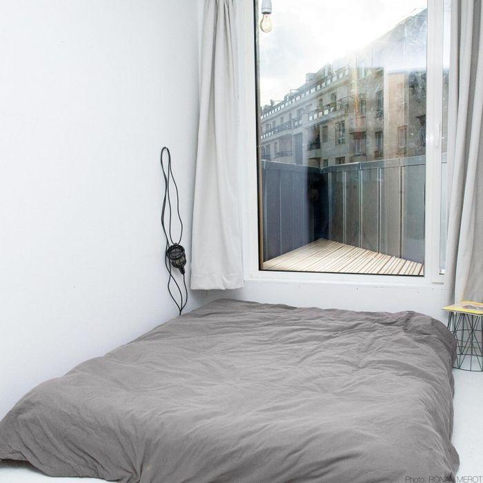 Зона спальни на втором этаже