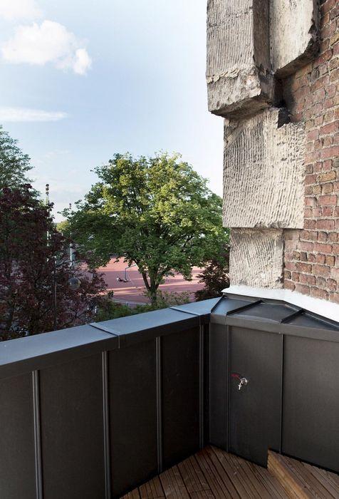 На крыше есть терраса