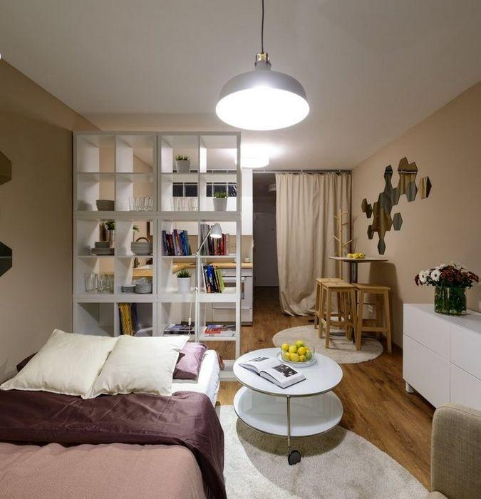 Освещение зоны гостиной-отдыха