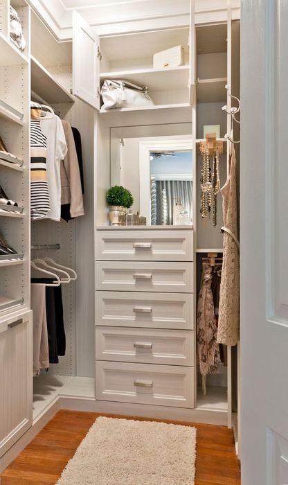 Стильная и практичная гардеробная