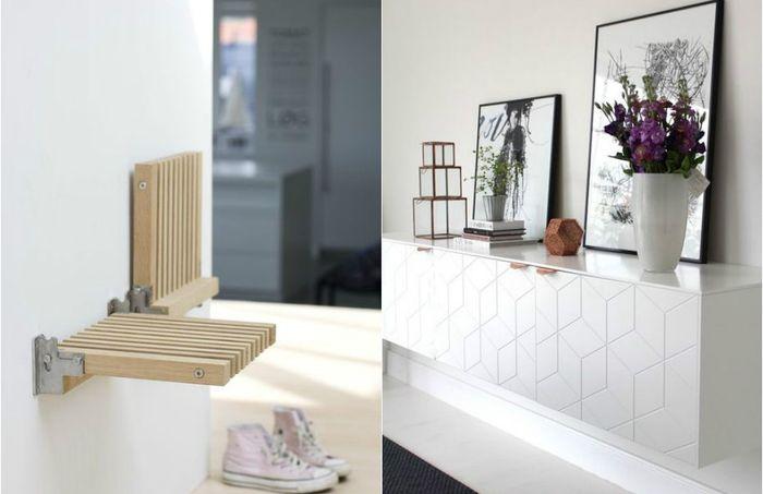 Экономим место: 13 невероятных образцов настенной мебели, которая преобразит небольшой интерьер