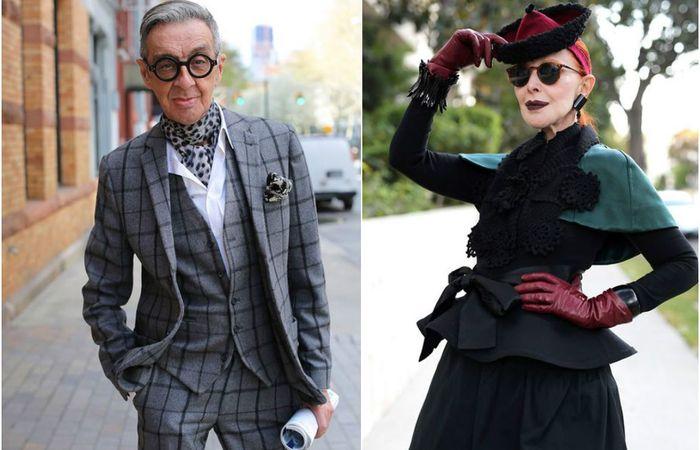 Модные пенсионеры, которым наплевать на возраст