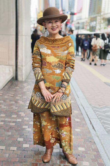 Модная пенсионерка