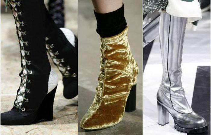 Модные сапоги этого сезона: 10 самых актуальных трендов и 20 ярких примеров