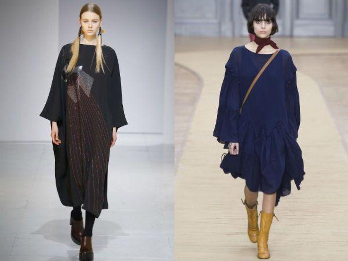 Модные платья этой осени