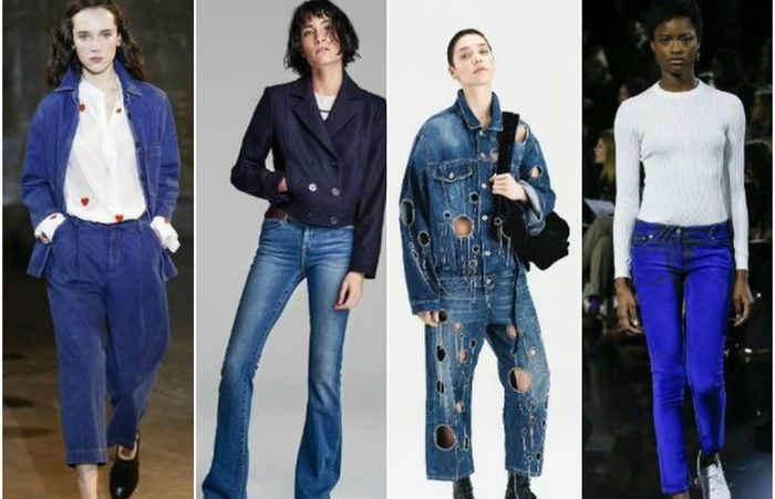 Модные джинсы: 10 горячих трендов осенне-зимнего сезона