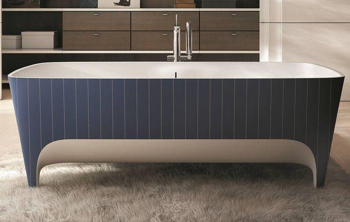 Лаконичный и стильный дизайн ванны