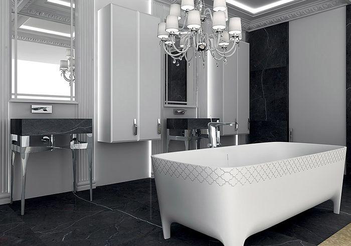 Стильный декор ванны