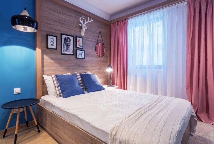 Спальня, в которой не тесно