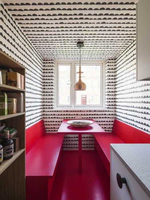Необычная цветовая гамма для кухни