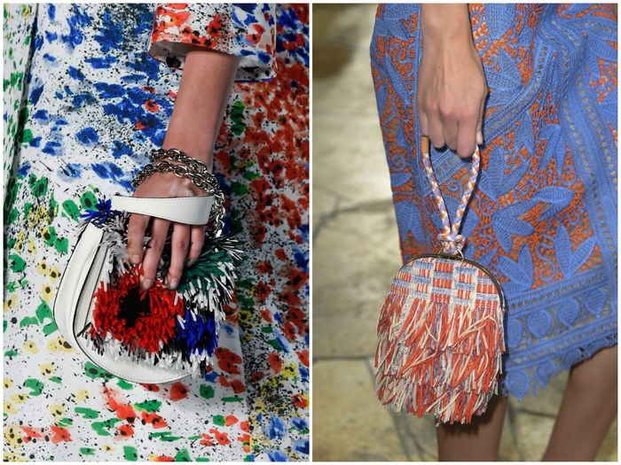 В моде цветная бахрома