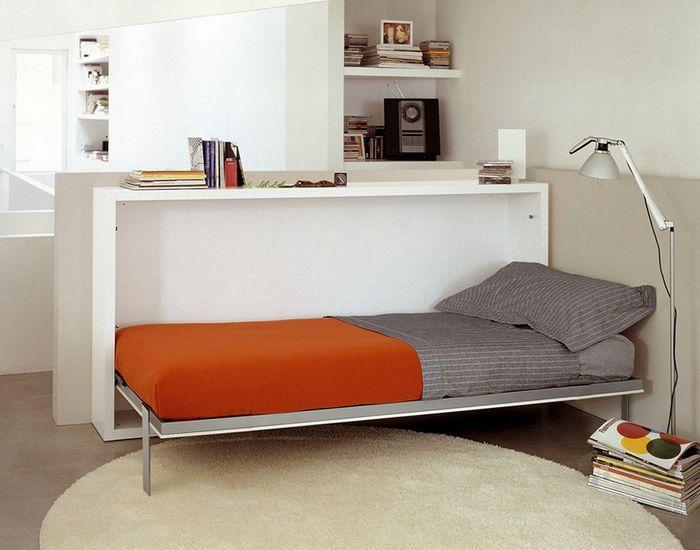 Кровать, как элемент зонирования