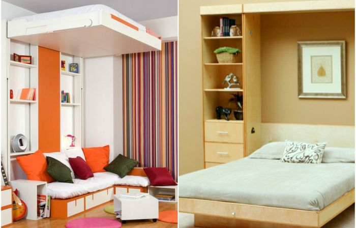 Кровати, которые сэкономят пространство
