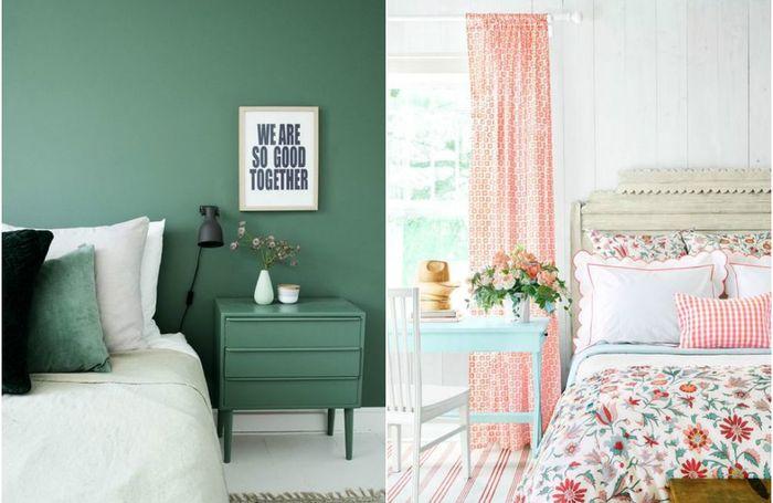 10 наиболее удачных цветовых схем для интерьера спальни