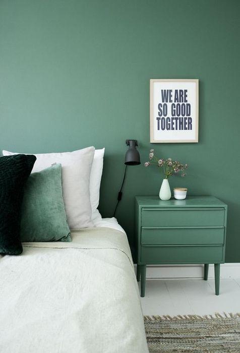Пастельный зелёный