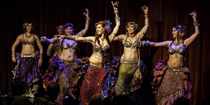 Трайбл - разновидность восточного танца